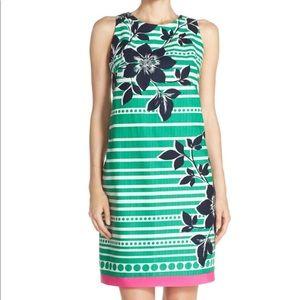 Eliza J Printed Shift Dress Size 8